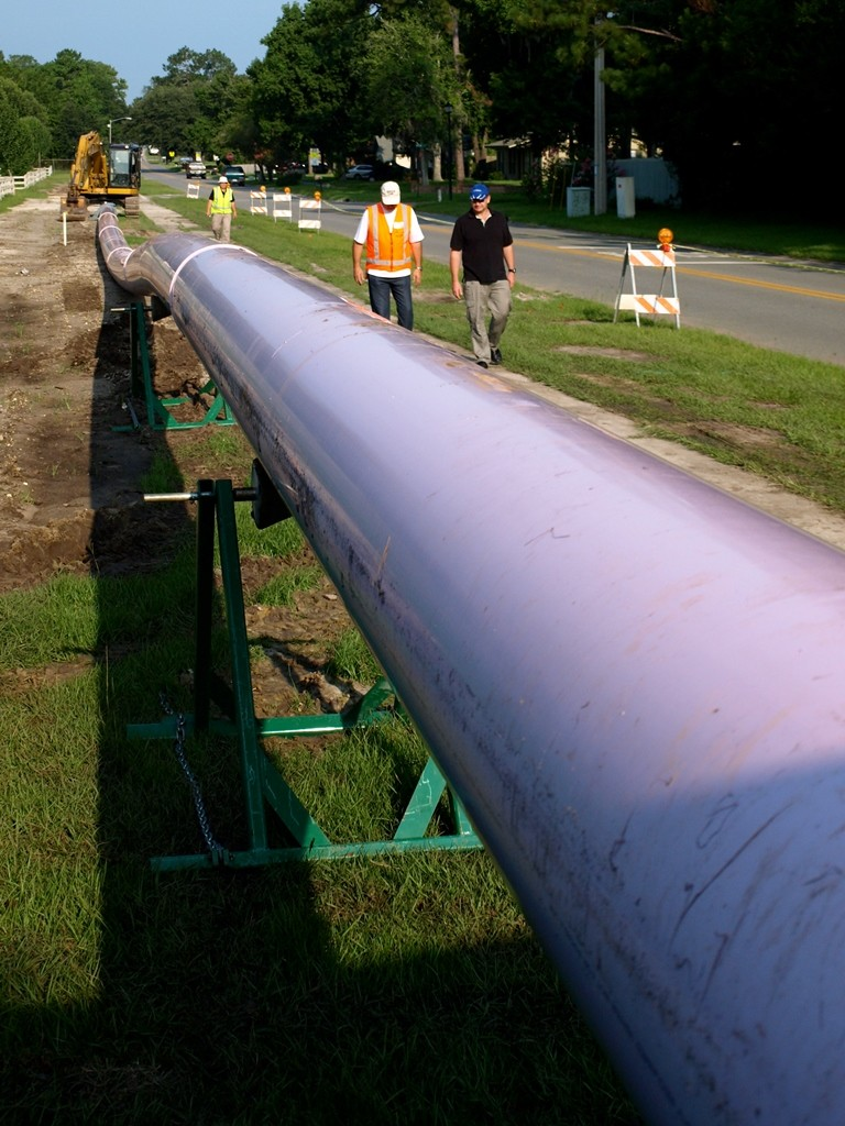 PVC Pipes trenchless construction options